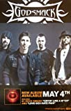 Godsmack - The Oracle - Rare 2-sided Advertising Poster - 11x17