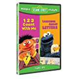 Sesame Street Double Feature: 123 Count With Me/Learning About Letters ~ Various