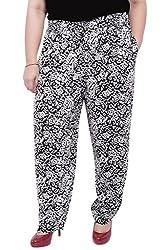 Black & White Printed Lounge Pant_LIBO729_L