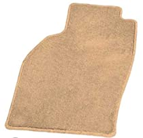 Coverking Front Custom Fit Floor Mat Set for Select Nissan 300ZX Models - 70 Oz Carpet (Oak)