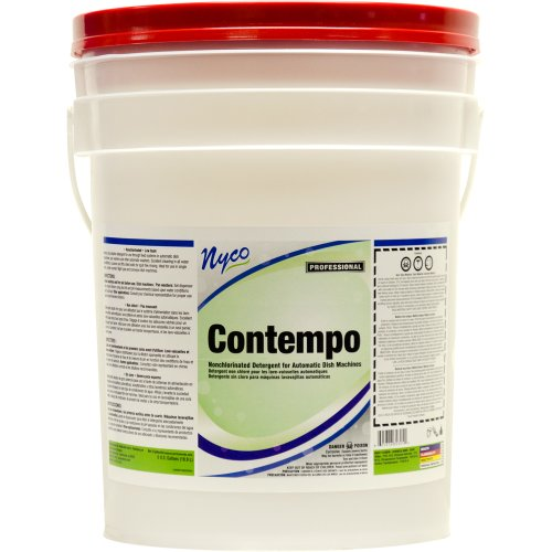 Nyco Products Nl303-P5 Contempo Non-Chlorinated Automatic Dish Detergent, 5-Gallon Pail front-136710