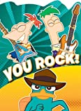 Disney's Phineas and Ferb Party Thank You Notes 8 Pack
