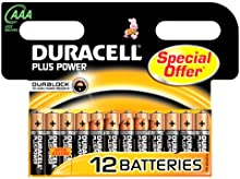 Comprar Duracell 394050891 - Pilas alcalinas Plus LR03 AAA (pack de 12 pilas)