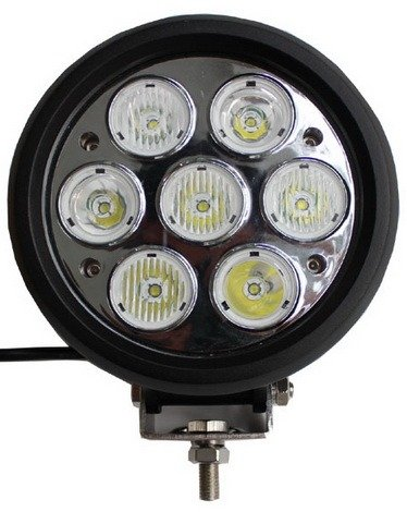 1Pcs 6000K 70W Led Driving Light Off Road Atv Boat Work Light Truck Driving Lamp