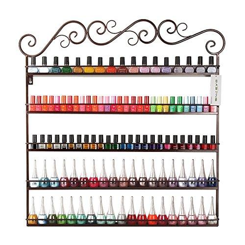 diy-mounted-5-shelf-nail-polish-wall-rack-organizer-holds-100-bottles-nail-polish-or-essential-oilsb