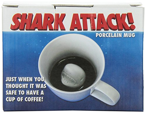 Accoutrements Shark Attack Porcelain Mug
