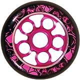 Madd Gear MGP Aero Core 100-Black Wheel with Core/Print (100-millimeter)
