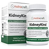 #1 Kidney Cleanse, Detox and Support Formula - All Natural Herbal Kidney and Bladder Care Supplement to Help with Kidney and Urinary Health - With Buchu, Birch, Gravel Root, Juniper, Uva Ursi, Cranberry and Nettle Leaf - 60 Vegetable Capsules