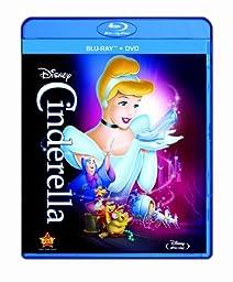 Cinderella (Two-Disc Diamond Edition Blu-ray/DVD Combo in Blu-ray Packaging)
