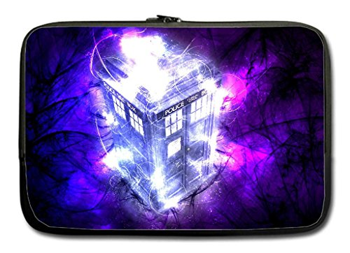 Doctor Who Tardis Image Twin Sides 13-13.3 Inch Sleeve Bag Fits Most Laptop and Macbook