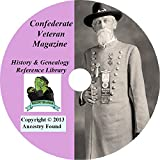 Confederate Veteran - Civil War Collection - 372 Magazines on DVD