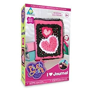 Orb Factory Plush Craft I LOVE Journal