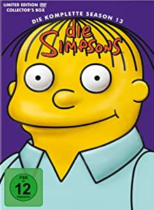 DVD Die Simpsons - Season 13  [CE] [4 DVDs] [Import allemand]