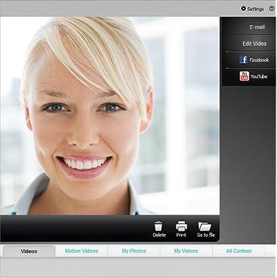 Logitech 960000585 - HD C310 Portable Webcam, 5MP, Black