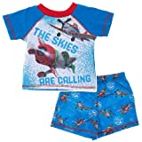 Disney Little Boys' Planes 2 piece PJ Set (Toddler/Kid) - Acers N' Racers