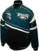 NFL Mens Philadelphia Eagles 1st and 10 Cotton Twill Jacket by MTC Marketing, Inc