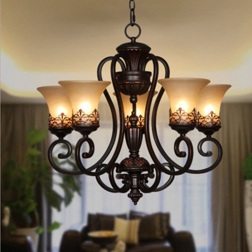 lightinthebox-island-country-vintage-style-chandeliers-flush-mount-painting-lighting-fixture-lamp