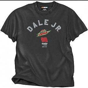 #88 Dae Earnhardt Jr 2012 Diet Mt. Dew Vintage Mens Black T -936NG by Brickels