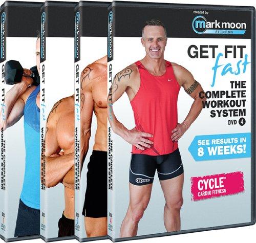 Mark Moon: Get Fit Fast : Complete Workout System: 4 Dvd Set
