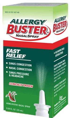 Allergy buster nasal spray