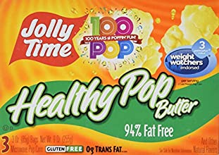 Jolly Time Healthy Pop Microwave Popcorn 3 ct 2 pk