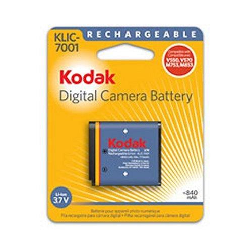 Kodak 1979657 KLIC-7001 Li-Ion Rechargeable Digital Camera Battery
