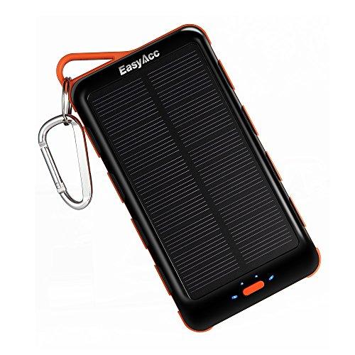 EasyAcc® 15000mAh Solar Ladegerät PowerBank