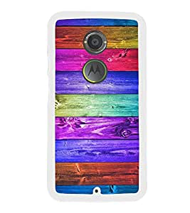 Multicolour Wooden Pattern 2D Hard Polycarbonate Designer Back Case Cover for Motorola Moto X2 :: Motorola Moto X (2nd Gen) :: Motorola Moto X 2014 :: Motorola Moto X+1