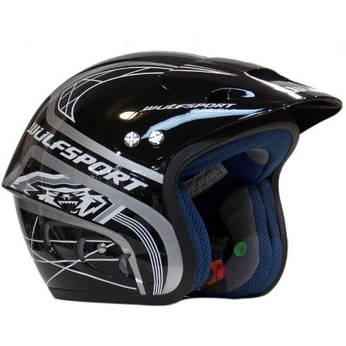 Wulf 2013 Airflo Trials Helmet L Black/Airflo-W