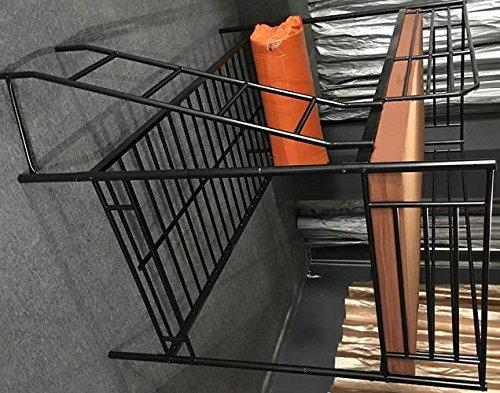 5.5.4.6.2871: günstiges Hochbett aus Metall - Etagenbett aus Metall mit 2 x Liegefläche 90x200cm