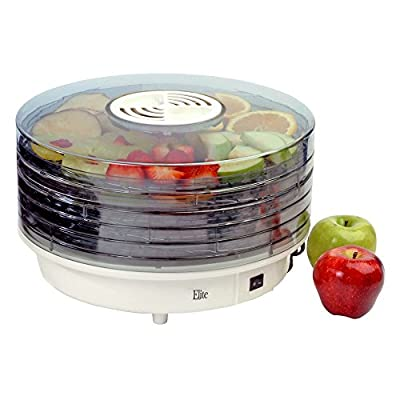 Maxi-Matic Elite Gourmet 5 Tray Food Dehydrator by Englewood Marketing Group Inc