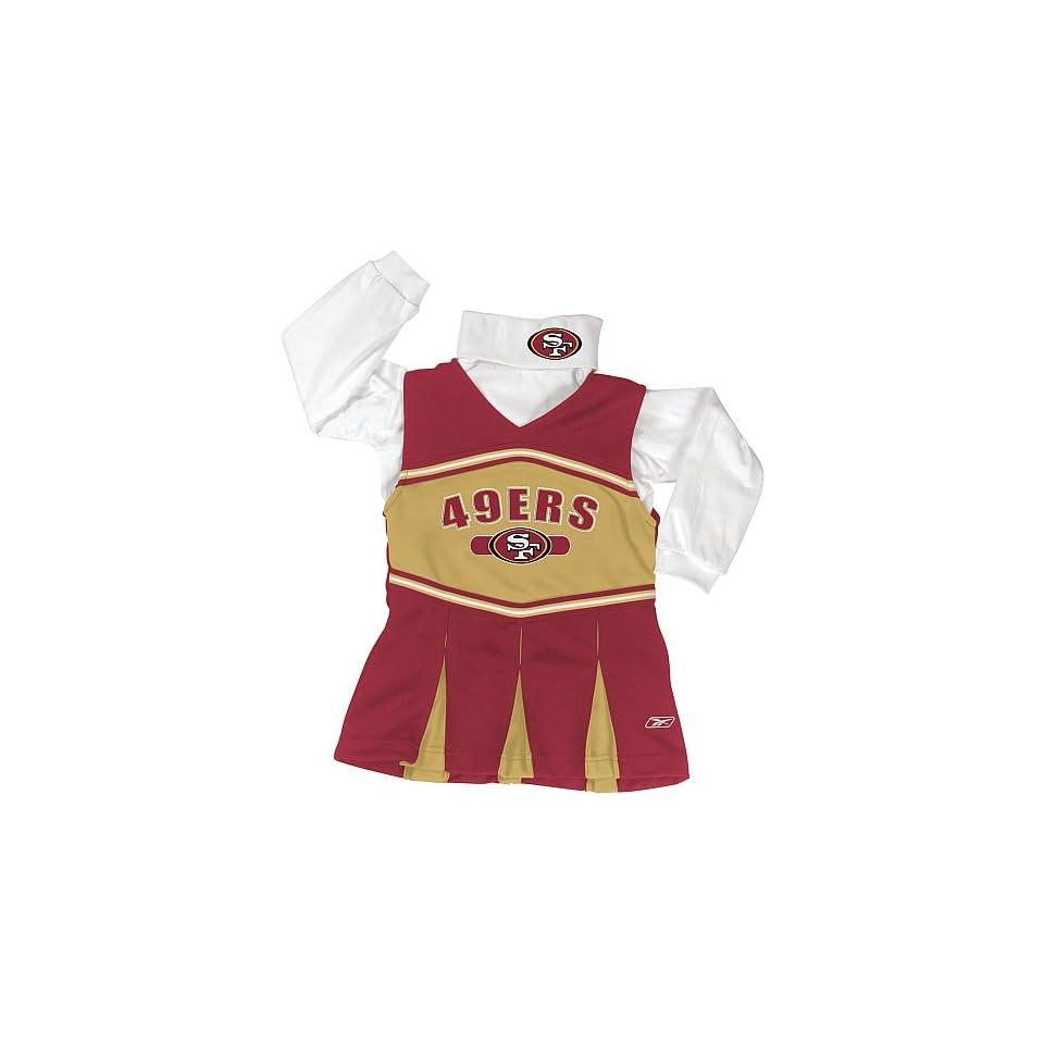 Reebok San Francisco 49ers Girls Cheer Jumper