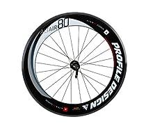 Profile Design Altair 80 Semi-Carbon Clincher Front Wheel