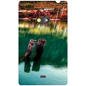 Nokia Lumia 625 Back Cover - Nature Make us Designer Cases