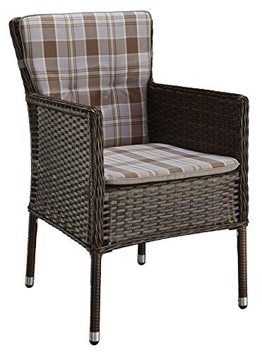 baumarkt direkt Loungesessel »Malaga« (2 Stück) 2 Stühle, braun