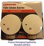 Kidde 9040eu Twin Pack Micro Smoke Alarms from KIDDE