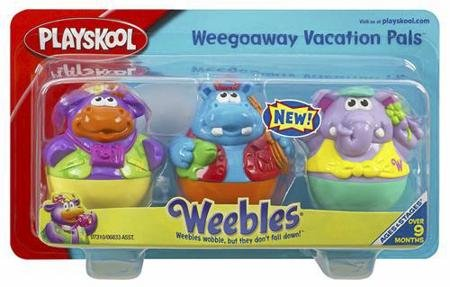 Weebles _ Weegoaway Vacation Pals
