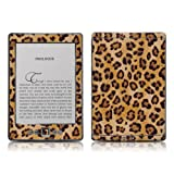 "Kindle 4 skin - Leopard Spots - High quality precision engineered removable adhesive skin for the Amazon Kindle (4th generation Wi-Fi 6"" E Ink Display e-book reader)by DecalGirl"
