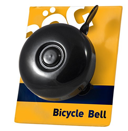 Classic Bike Bell With Vintage Ring ~ Fits Most Handlebars ~ Resonant Steel Sound 1