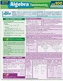 Algebra Fundamentals Quizzer (Quickstudy Quizzer)