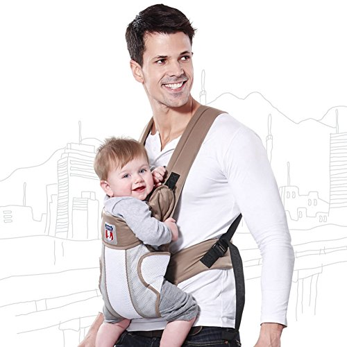 Hellobaby Carriers Series Comfortable And Breathable Baby Carrier front-65381