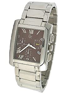 Buy Guess Collection Chronograph Silver Band Mens Watch - 29502G3 by GUESS