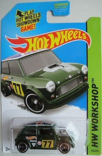 HOT WHEELS MORRIS MINI HW WORKSHOP 194/250 GREEN