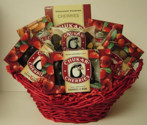 Chukar Cherries Gift Basket