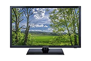 Axess TVD1803-22,  22-Inch 1080p Digital LED Full HDTV, Includes AC/DC TV, DVD Player, HDMI/SD/USB Inputs