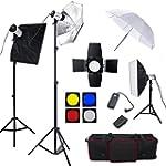 Professionnel Kit Flash de studio 750...