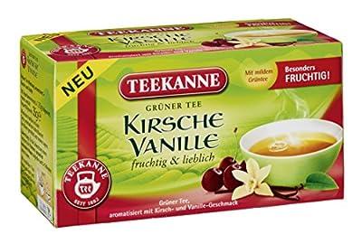 Teekanne Grüner Tee Kirsche Vanille, 6er Pack (6 x 35 g) von Teekanne auf Gewürze Shop