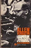 Allen Verbatim: Lectures on Poetry, Politics, Consciousness