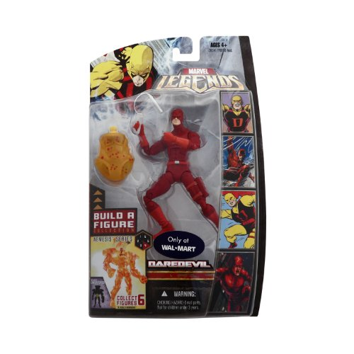 Marvel Legends Exclusive Nemesis Build-A-Figure Wave Action Figure Daredevil ... (Marvel Legends Nemesis Series compare prices)
