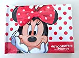 Disney Parks Minnie Mouse Autograph and Photo Book NEW